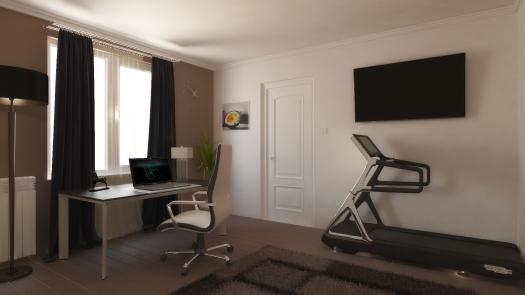 Fiú modern szoba