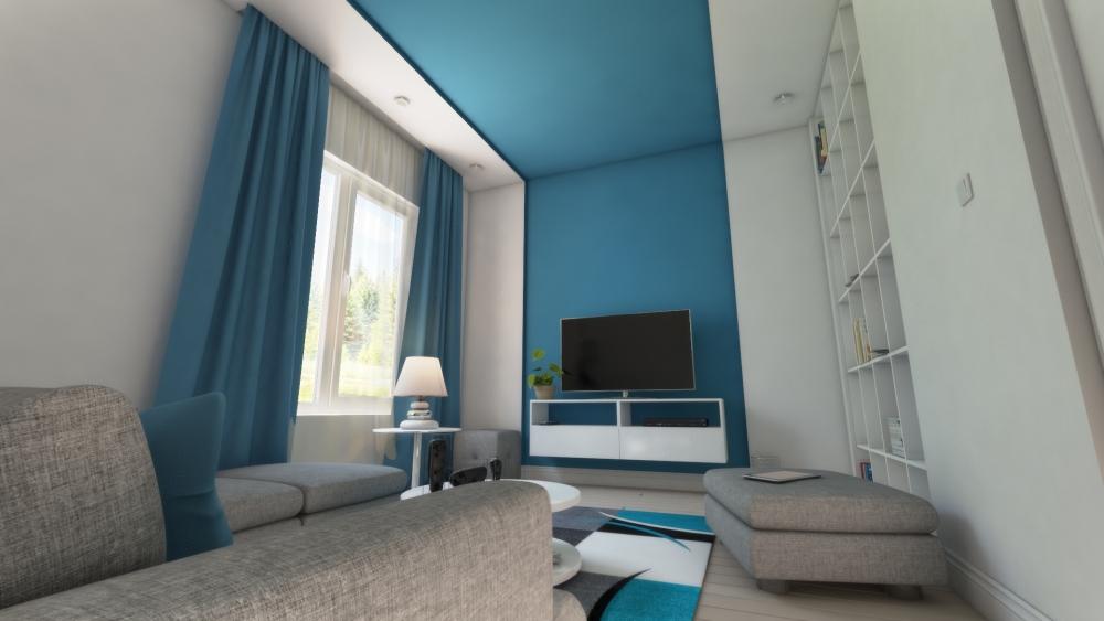 Modern nappali - Modern living room (2/2)